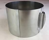 Раздвижная форма для выпечки ( 16 см * 30 см * 12 см ) .
