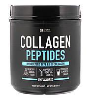 Sports Research, Пептиды коллагена, без вкусовых добавок, 454 г