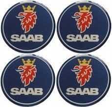 Наклейка SAAB 55mm