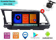 "Штатная магнитола Hyundai Elantra 2016-2018 (9"") Android 10.1 (4/32)"