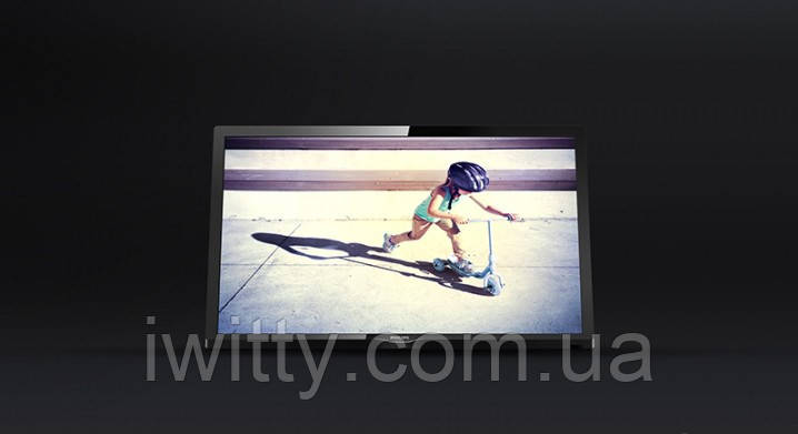 """Телевизор Филипс Philips 22"""" СМАРТ приставка в ПОДАРОК Full HD/DVB-T2/USB (1366x768)"""