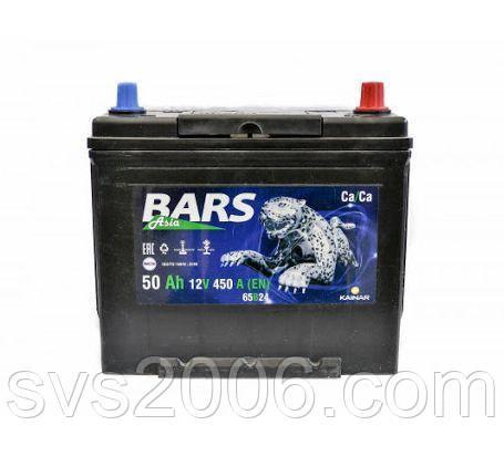 АКБ 6СТ-50 L+ (пт 450)(не обслугов)(азія) BARS
