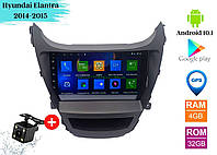 "Штатная магнитола Hyundai Elantra 2014-2015 (9"") Android 10.1 (4/32)"
