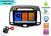 "Штатная магнитола Hyundai Elantra 2008-2011 (9"") Android 10.1 (4/32)"