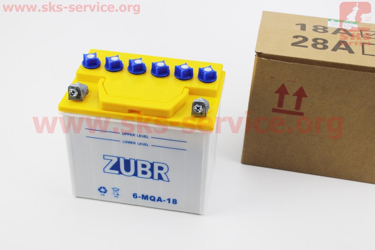 Аккумулятор 18Аh 6-MQA-18 кислотный (L175*W125*H185mm)
