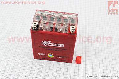 Аккумулятор 7Аh MOTO YTX7L-BS гелевый (L113*W70*H132mm), 2019