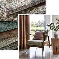 Фактурні полотна твід та букле в інтер'єрному текстилі