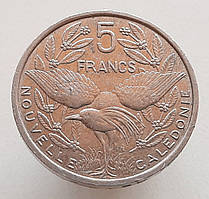 Новая Каледония 5 франков 1986