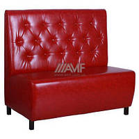 Диван Сити на ножках, венге (Н100) 1200*670*1100Н Лаки красный