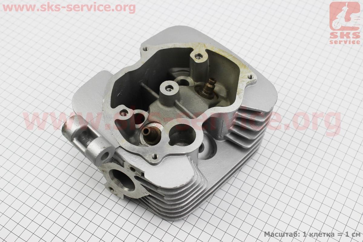 Головка цилиндра 150cc-62mm (голая, на 2 глушителя)