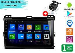 """Штатная магнитола Toyota Prado 120 2004-2009 (10"""") Android 10.1 (4/32)"""