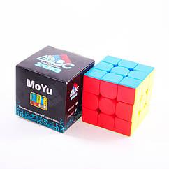MoYu Meilong 3C 3x3 Cube stickerless | Кубик 3х3 без наклеек Мейлонг 3С MF8888B