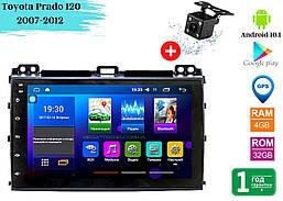 """Штатная магнитола Toyota Prado 120 2007-2012 (9"""") Android 10.1 (4/32)"""