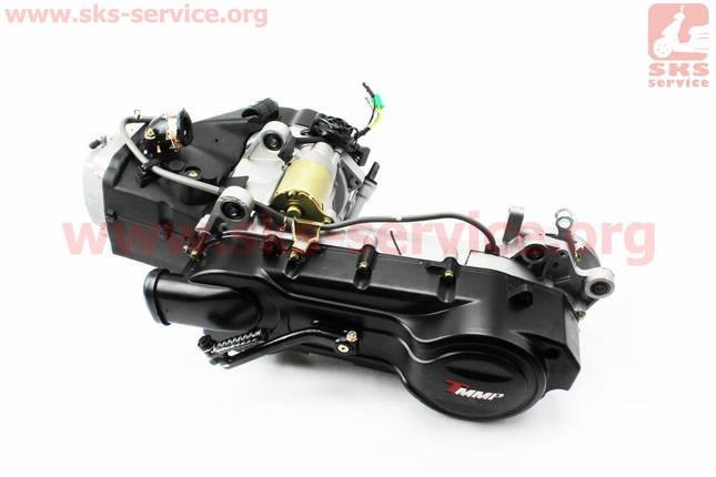 Двигатель скутерный в сборе 150куб (длинный вариатор, короткий вал), фото 2