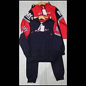 Модные трикотажные спортивные костюмы для мальчиков подростков из Венгрии оптом GRACE 134-164см🎯