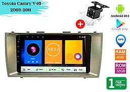 "Штатная магнитола Toyota Camry V40 2008-2011 (9"") Android 10.1 (4/32)"