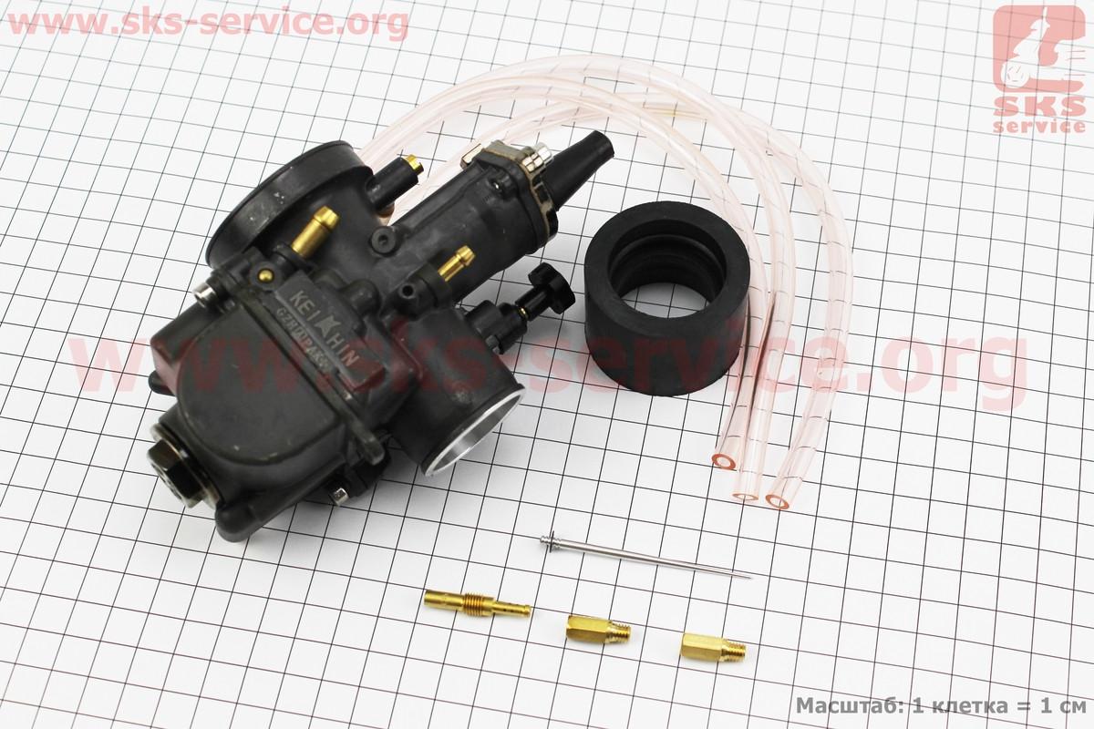 Карбюратор SPORT PWK 30 (d=30mm) с мех. заслонкой