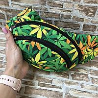 Поясная сумка Бананка сумка на пояс тканевая с ярким принтом женская мужская детская. В Расцветках, фото 1