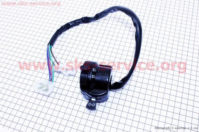 Переключатель руля левый с проводами, фото 2