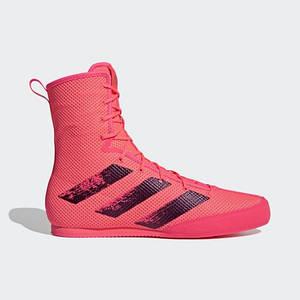 Взуття для боксу (боксерки) Adidas Box Hog 3 (рожеві, FX1991)