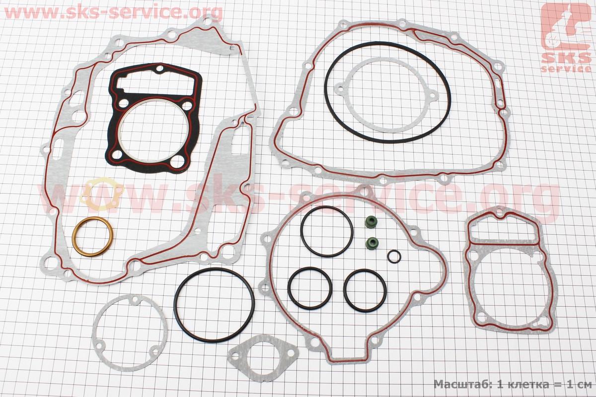 Прокладки двигателя к-кт CB-250cc 67мм