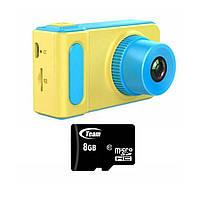 Детский цифровой фотоаппарат + флешка 8 ГБ