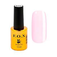 База для ногтей F.O.X 3D RUBBER BASE, 6 мл