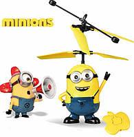 Радиоуправляемый летающий Миньон, летающая игрушка Миньон FD, Гадкий я мини-вертолет на радиоуправлении