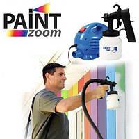 Краскораспылитель Paint Zoom (Пейнт Зум) краскопульт быстрое идеальное окрашивание