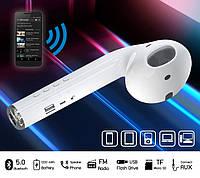 Акустическая портативная колонка беспроводная Bluetooth-колонки в виде AirPods FM USB Bluetooth 22,2см