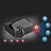 Портативный проектор UNIC 46 WiFi с динамиком мультимедийный проектор высокое разрешение