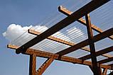 Гофрированный поликарбонат MARLON профиль Т20 1.183х3 метра Прозрачный, фото 3