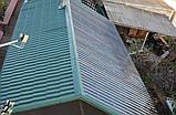 Гофрированный поликарбонат MARLON профиль Т20 1.183х3 метра Прозрачный, фото 9