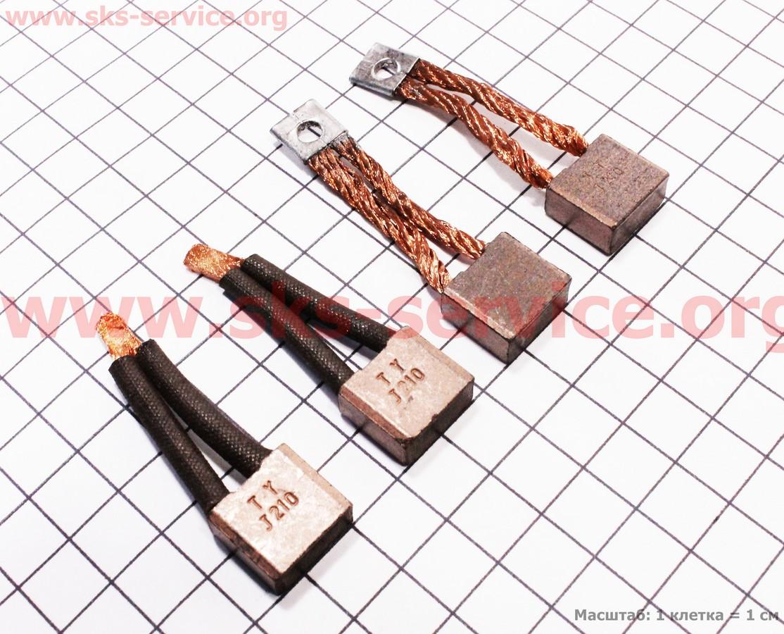 Щетки стартера к-кт 4шт R175A/R180NM