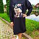 Жіноче плаття чорне 50, 52, 54, фото 3