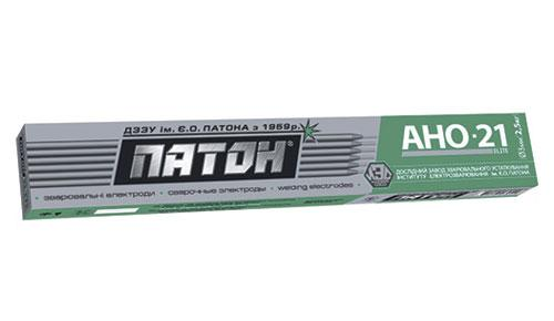 Электроды ПАТОН ELITE АНО-21 диаметр 4мм, вес 2,5кг