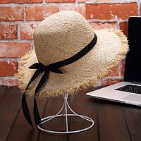 Женская соломенная шляпа. Модель 3024, фото 3