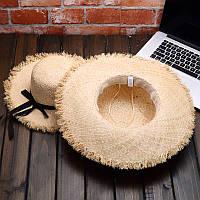 Женская соломенная шляпа. Модель 3024, фото 5