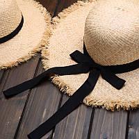 Женская соломенная шляпа. Модель 3024, фото 6