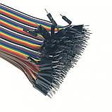 40шт дюпон кабель 20см, папа - папа, фото 4