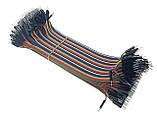 40шт дюпон кабель 20см, папа - папа, фото 3