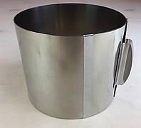 Раздвижная форма для выпечки ( 16 см * 30 см * 14 см ) .