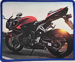 """Коврик для мышки """"Мотоцикл"""" (22x18)"""