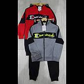 Оптом подростковые  спортивные трикотажные костюмы для мальчиков  GRACE 134--164см