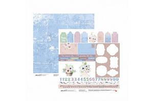 Бумага для скрапбукинга Emotion & Romance 9 двосторонній 30,48х30,48 см 200г/м2 ROSA TALENT