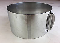 Раздвижная форма для выпечки ( 20 см * 40 см * 10 см ) .