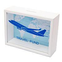 Копилка для купюр BST Самолет 710029, КОД: 1564636