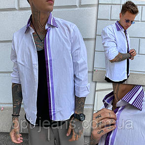 2935-1 Afish рубашка мужская белая (3XL-6XL, 4 ед.)