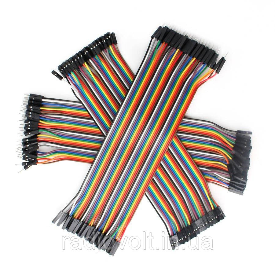 40шт дюпон кабель 30см, мама - мама