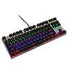 Механическая игровая клавиатура с подсветкой Metoo Zero X51, свитчи черные, фото 7